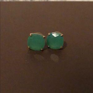 Kate spade- green earrings